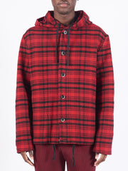 Red Caroman Overshirt