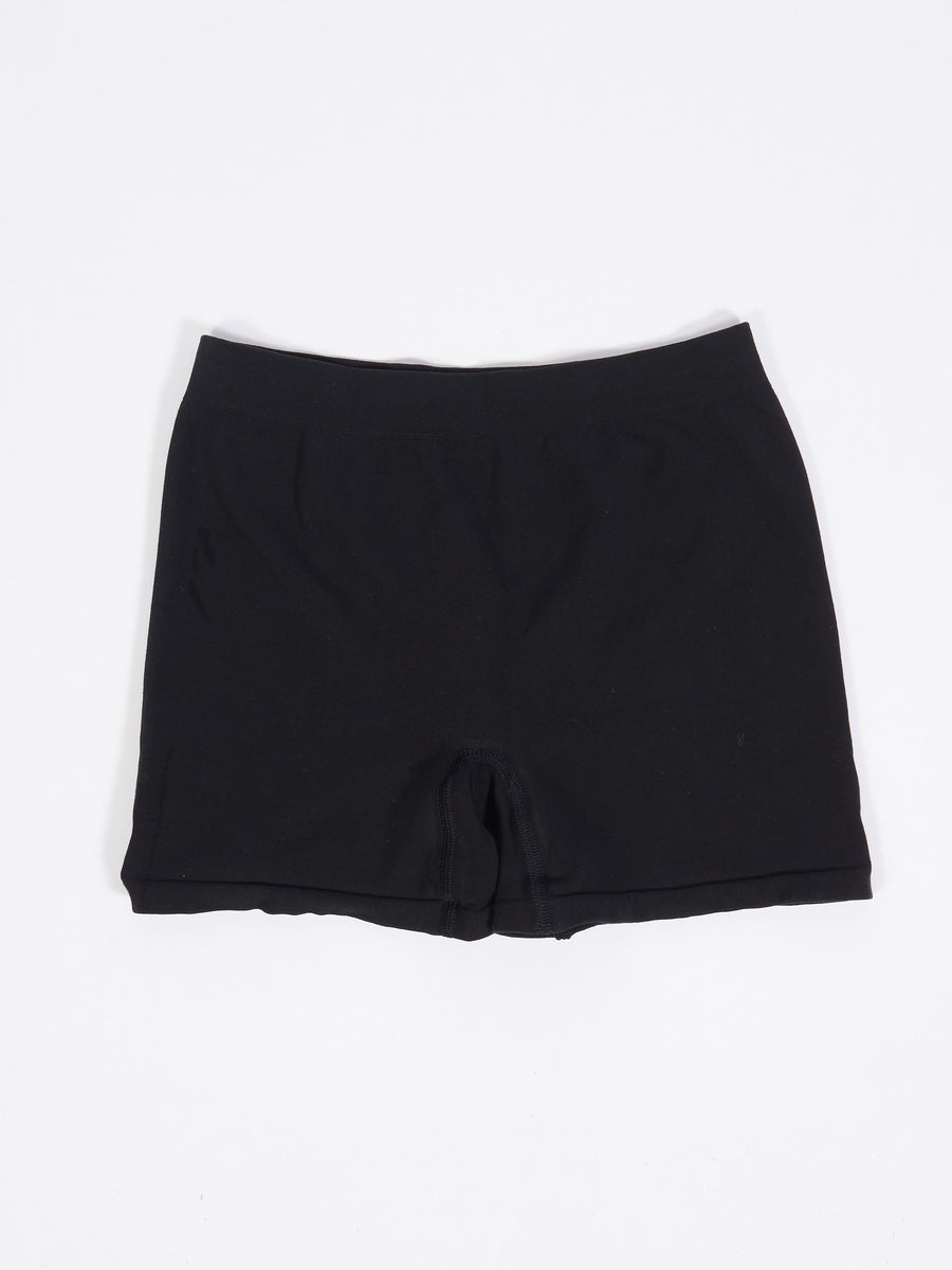 Black Seamless Oleta Shorts