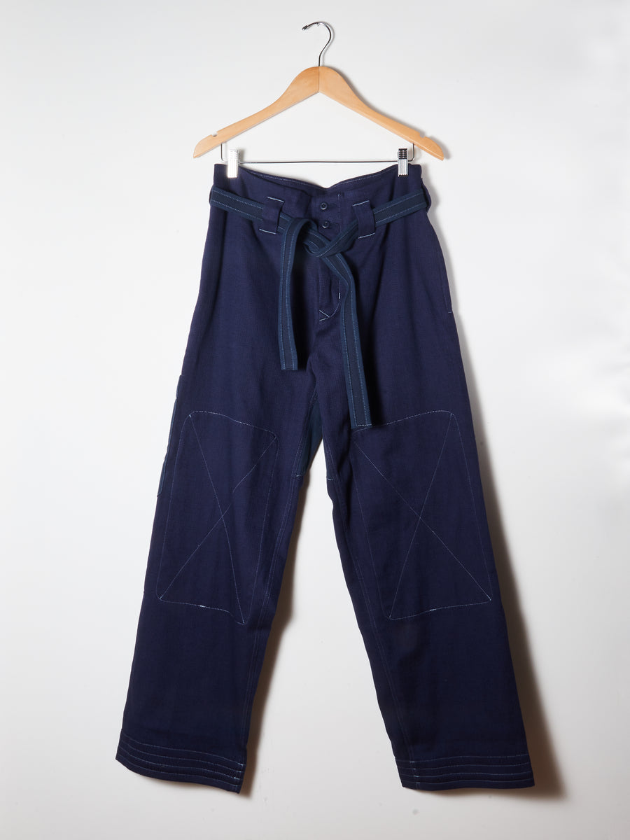 Sashiko Navy Do-Gi Pants