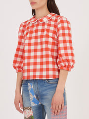Batsheva-Red-Gingham-Apron-Blouse-on-body