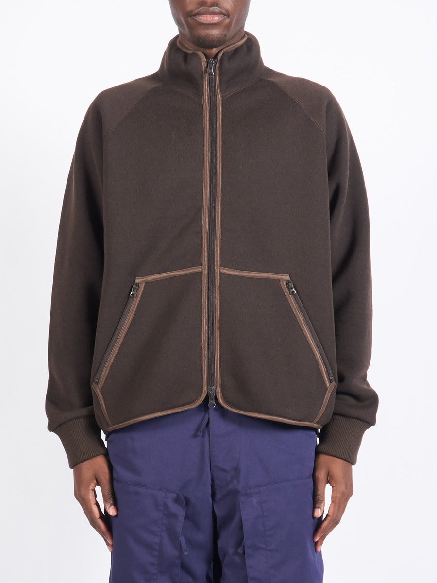 Brown Liner Jersey Jacket