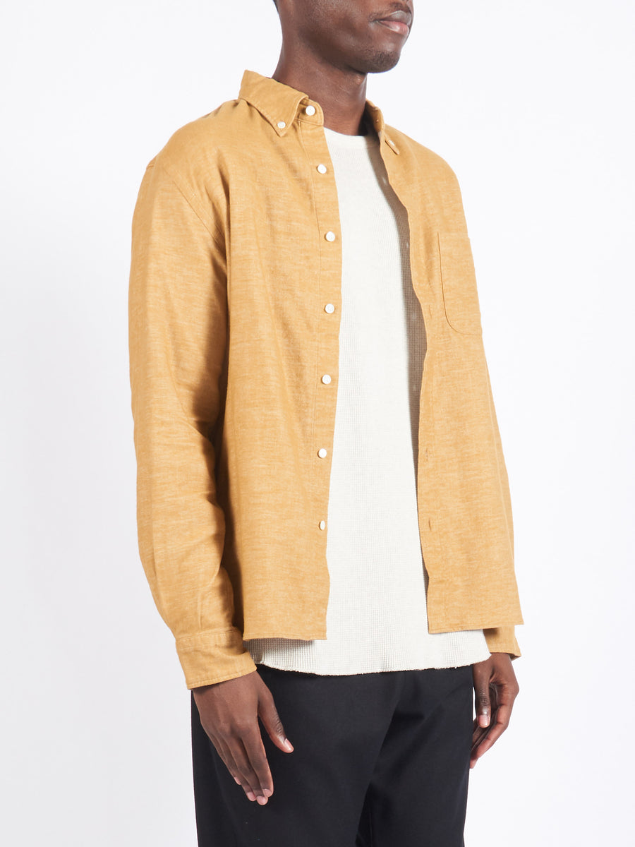 Camel Flannel Shirt