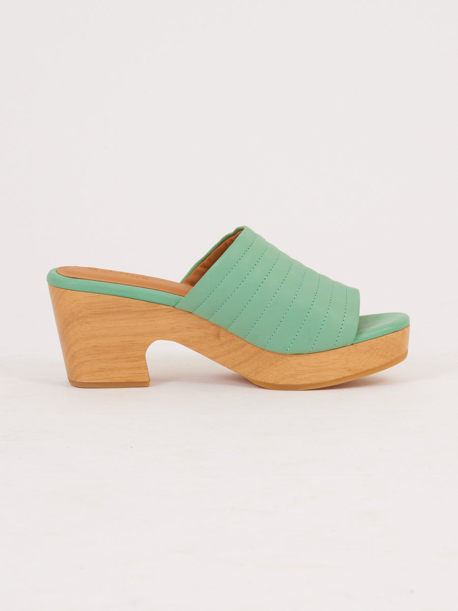 Beklina-Mint-Open-Toe-Ribbed-Lego-Clog