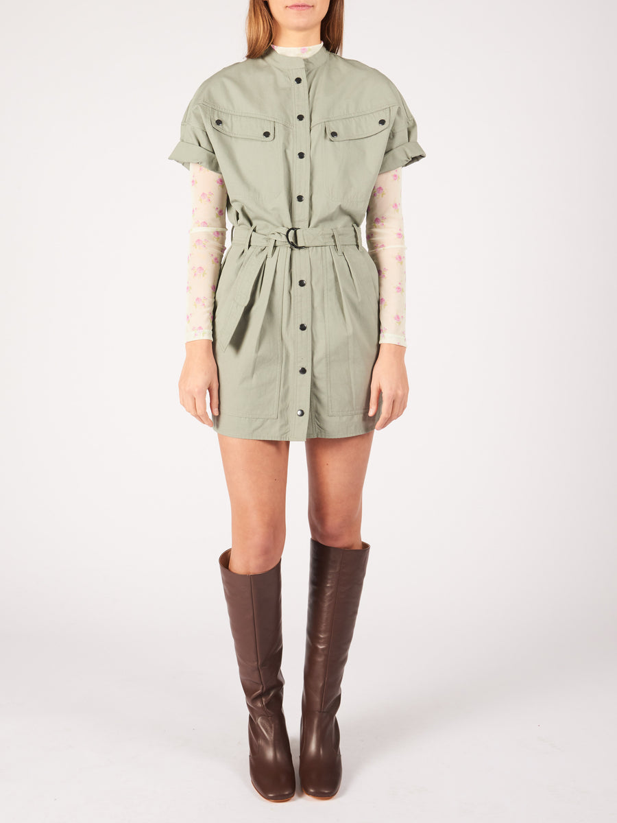 Isabel-Marant-Etoile-Verdigris-Zolina-Dress-on-body