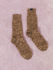 bleu-de-paname-brown-heathered-socks