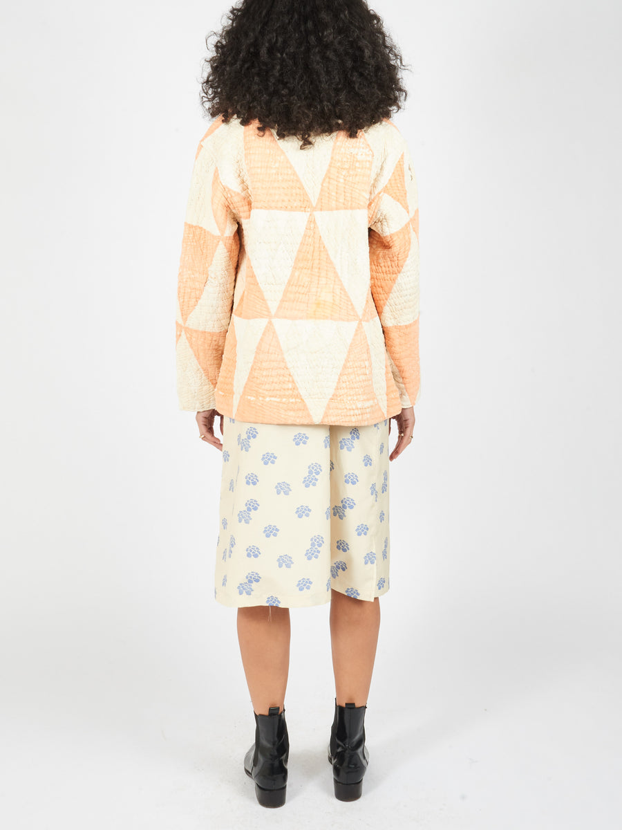 Orange/Cream Quilt Ardmore Jacket