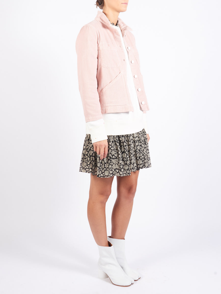 Pink Triangle Pocket Jacket