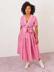 caron-callahan-pink-gingham-luca-dress-on-body