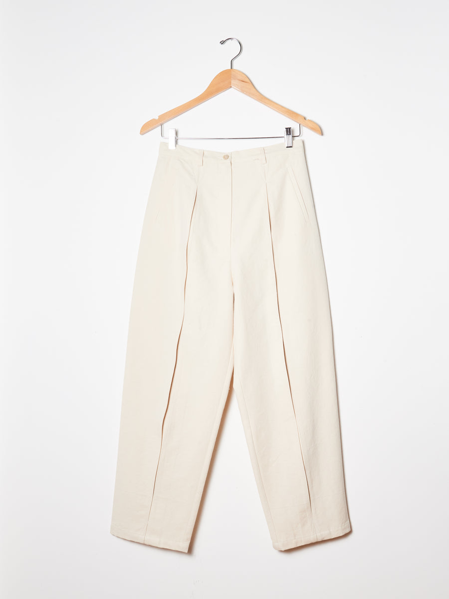 Natural Slub Elliot Pant