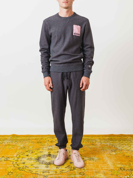 champion-x-w.w.-grey-logo-sweatpants-on-body