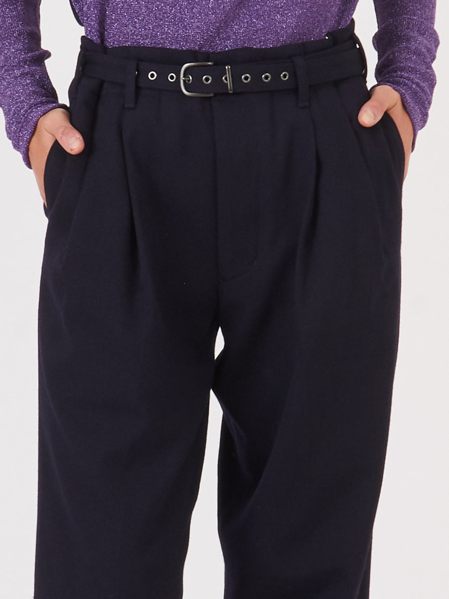 chimala-navy-high-waist-belted-trousers-on-body