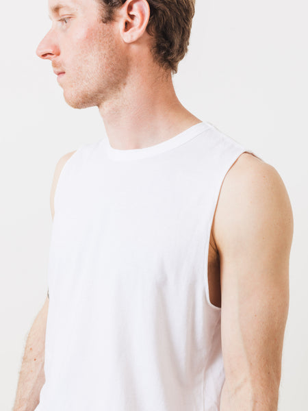 Off White Muscle Tee