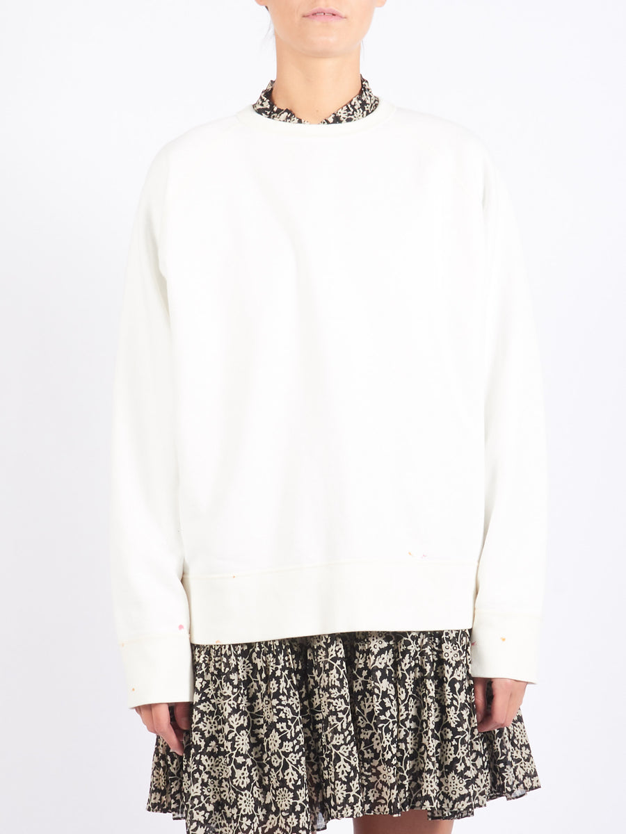 Chimala-Off-White-Raglan-Crew-Sweatshirt-on-body
