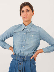 chimala-used-wash-chambray-shirt-on-body