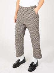 Dogtooth Check Easy Pant