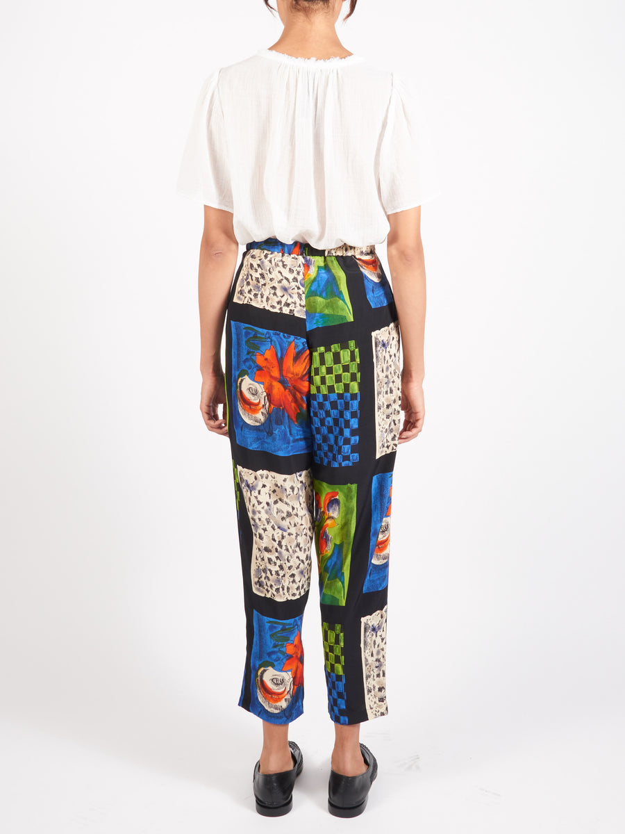 Collina-Strada-Flower-Plaid-Charlie-Pant-On-Body
