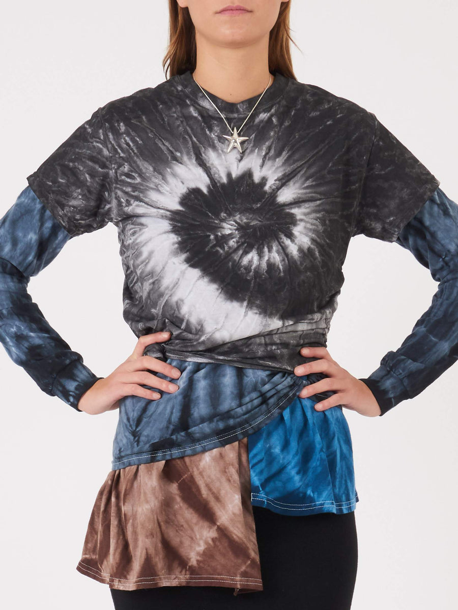 Collina-Strada-Multi-Tie-Dye-L/S-Triple-Tie-Tee-on-body