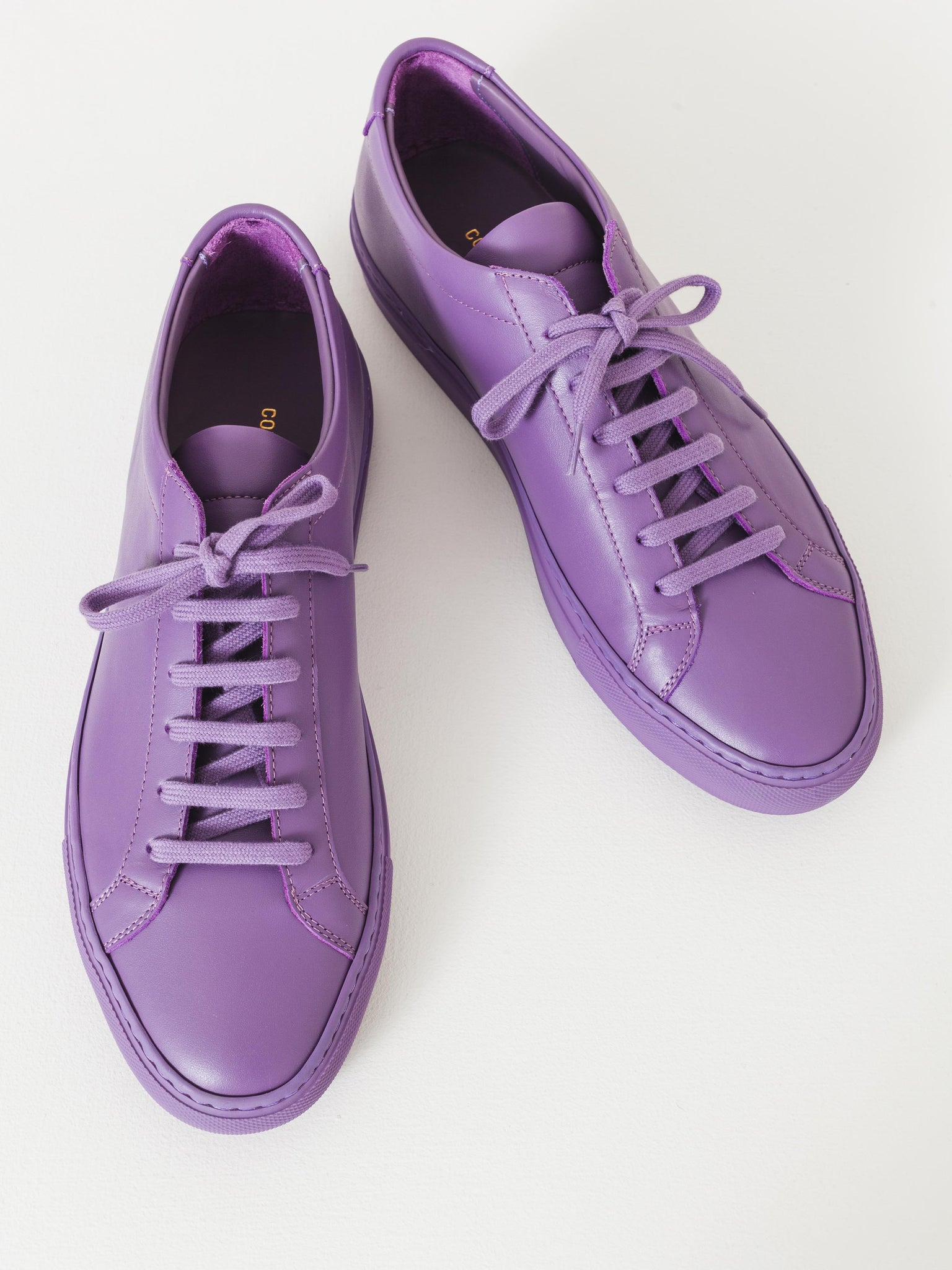 purple Achilles leather sneakers Common Projects KORYO