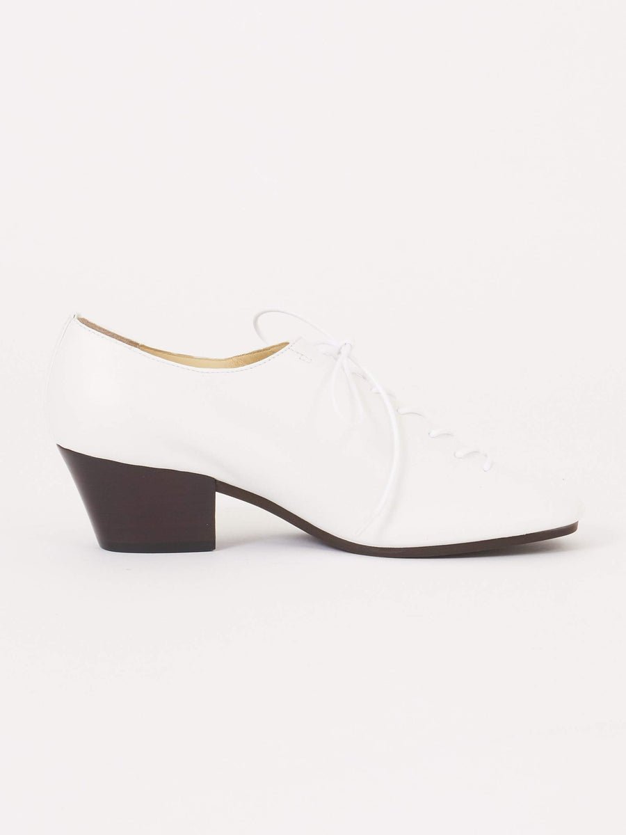 Lemaire-Clay-White-Heeled-Derbies