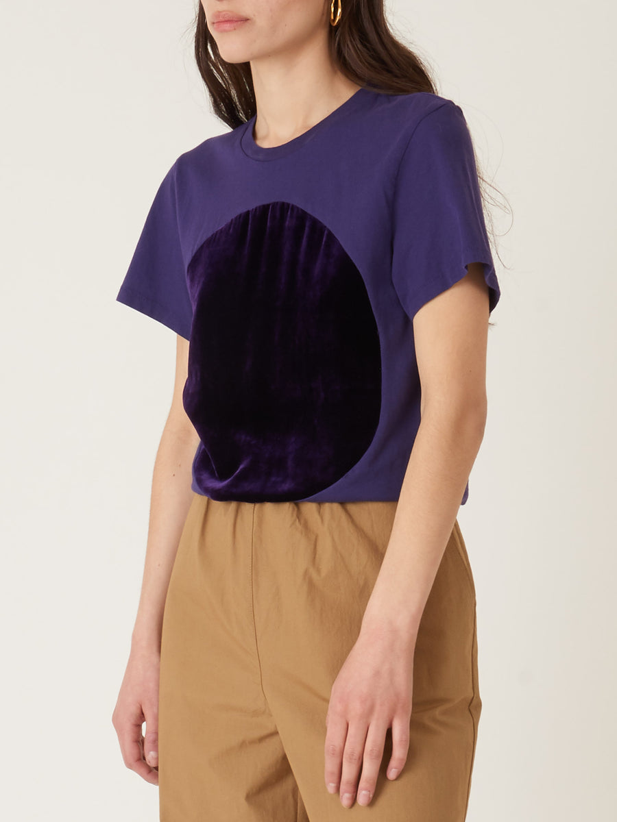 correll-correll-dark-purple-velvet-t-shirt-on-body