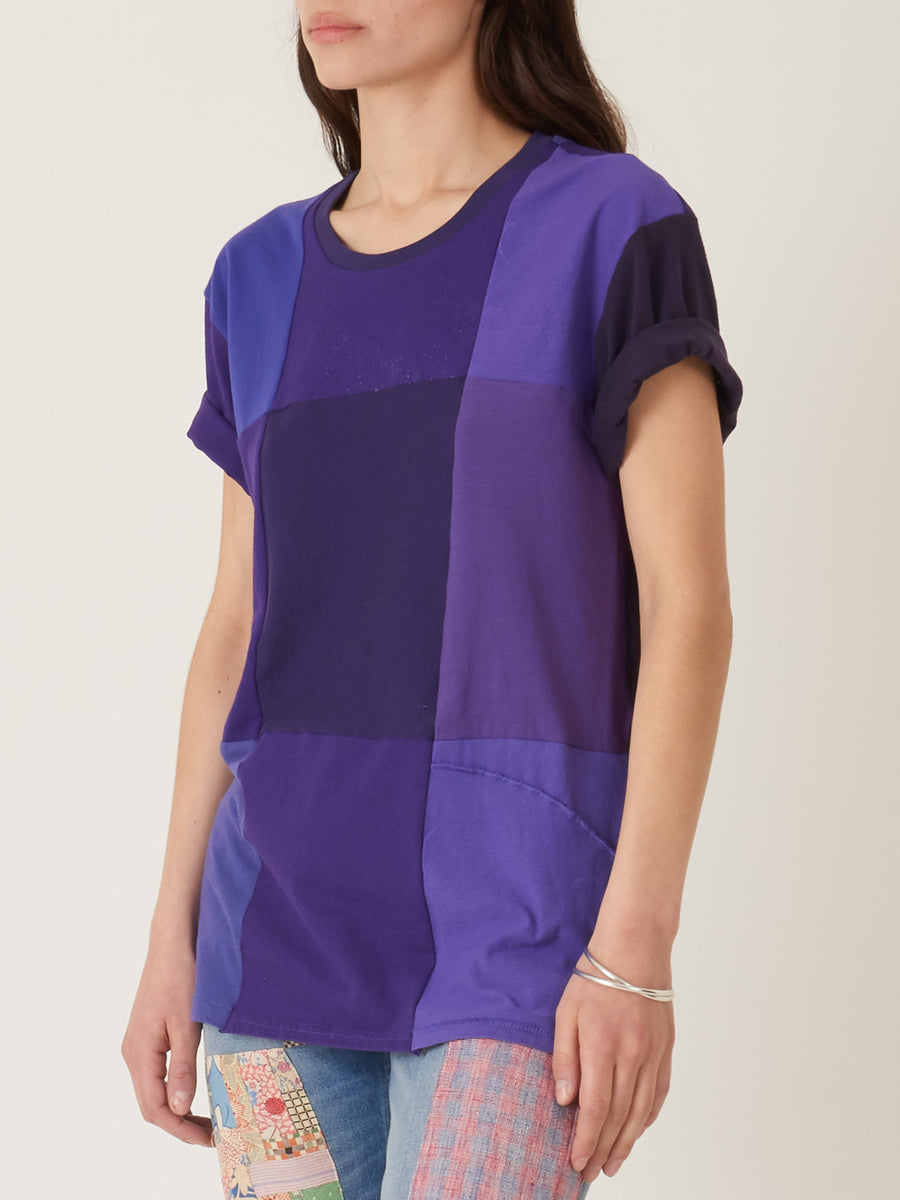 Correll-Correll-Purple-Mono-Recycled-T-Shirt-on-body