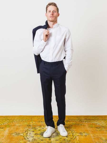 editions-M.R-navy-tailored-pants-on-body