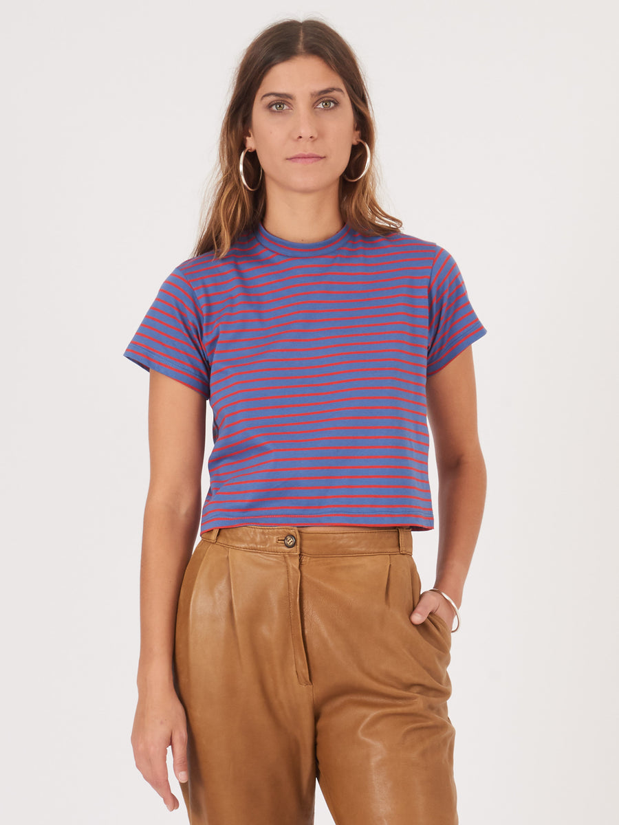 frances-may-blue-red-stripe-football-tee-on-body