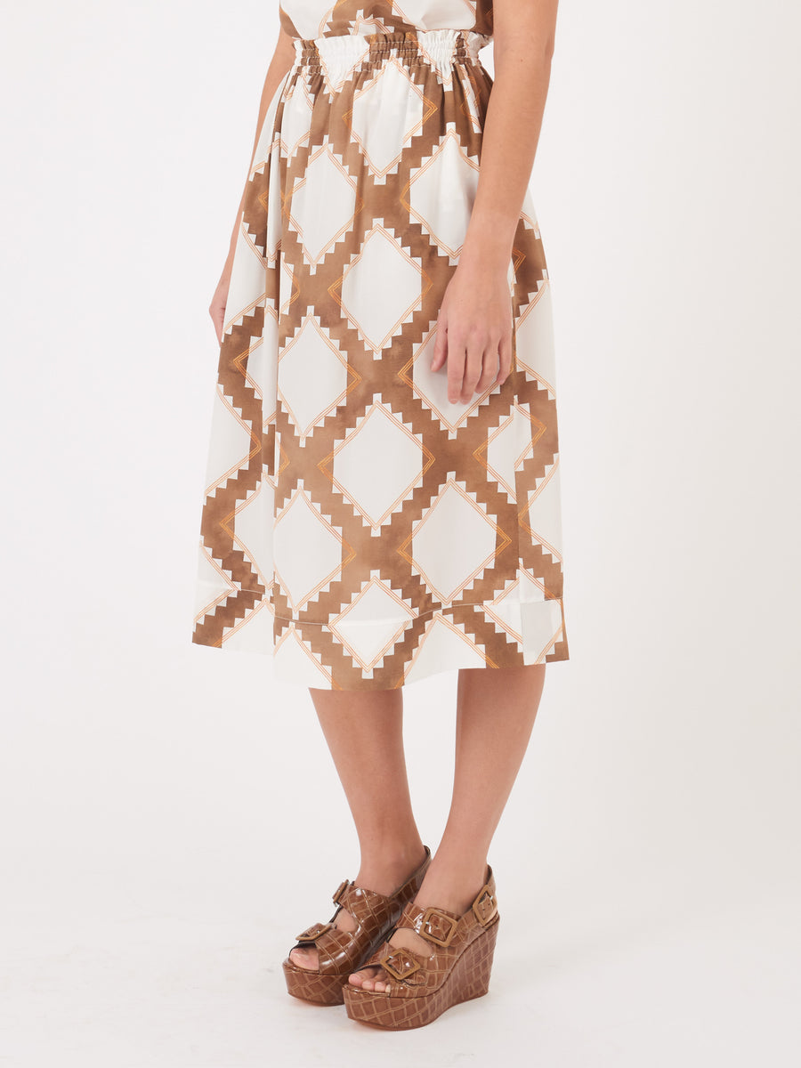 Frances-May-Houseline-Diamond-Print-Tess-Skirt-on-body