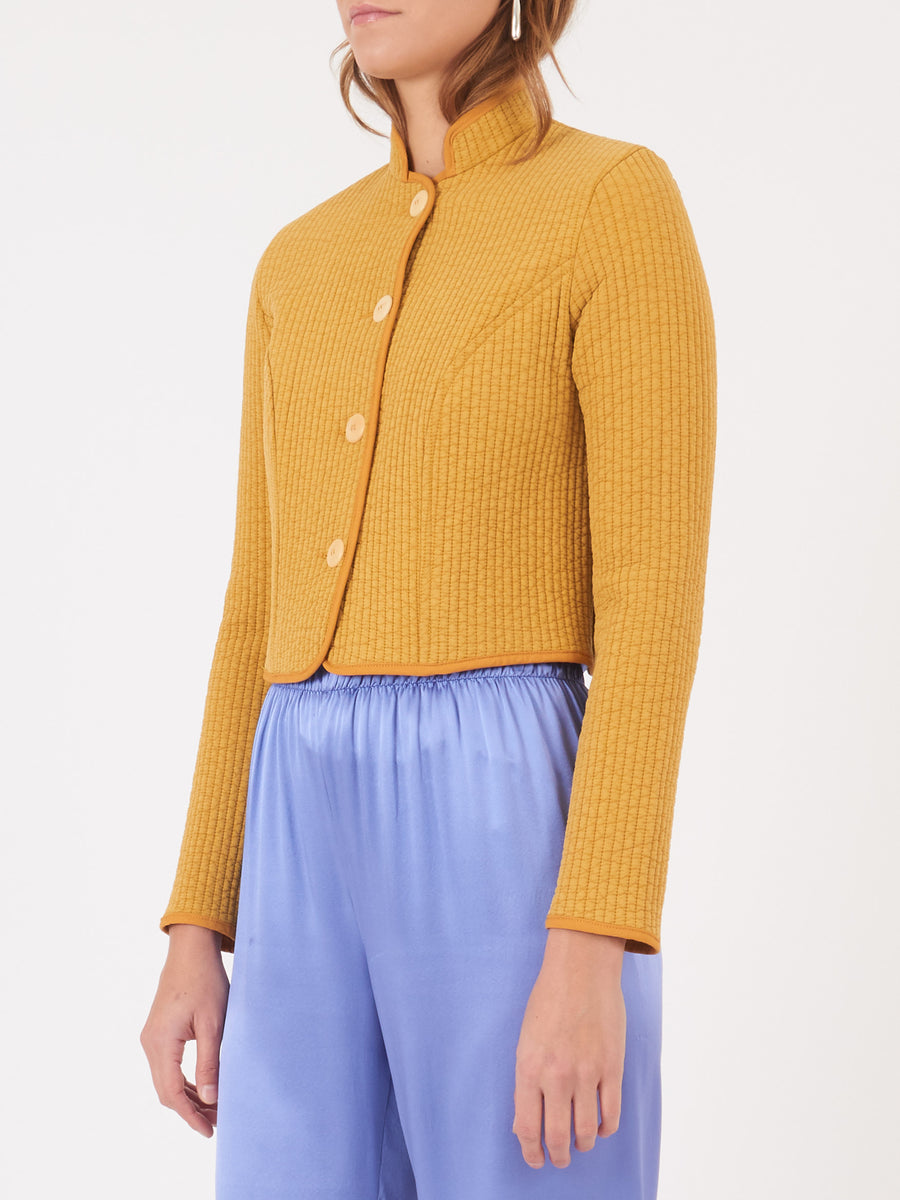 Frances-May-Houseline-Mustard-Quilted-Anna-Jacket-on-body