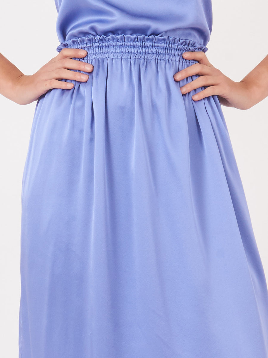 Frances-May-Houseline-Periwinkle-Silk-Tess-Skirt-on-body
