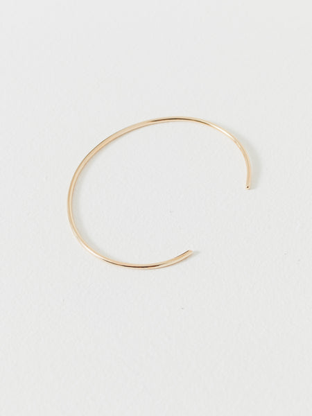 Gold Filled Subtle Band Cuff