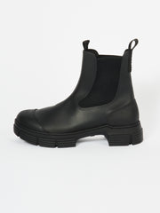 Black Recycled Rubber City Boot