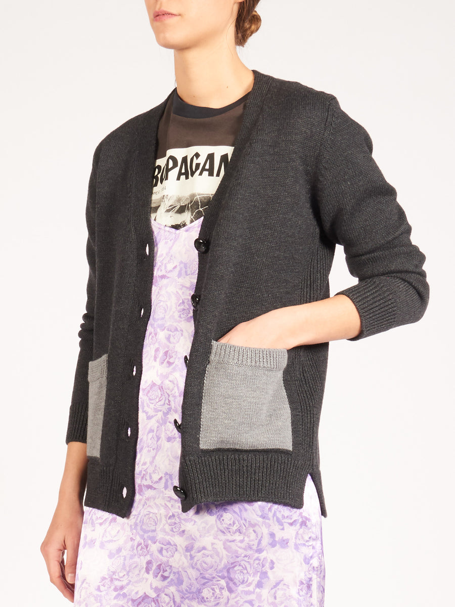 ganni-phantom-knit-cardigan-on-body