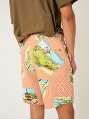 gitman-Orange-Hokusai-Short-on-body