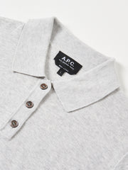 Heather Grey Mathilda Polo