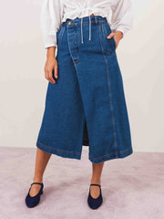 henrik-vibskov-blue-denim-pound-skirt-on-body