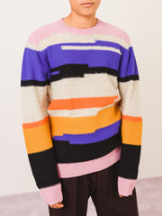 Henrik-Vibskov-Backspace-Reverse-Stripe-Sweater-on-body