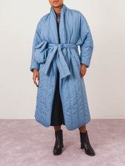 henrik-vibskov-blue-pipe-coat-on-body