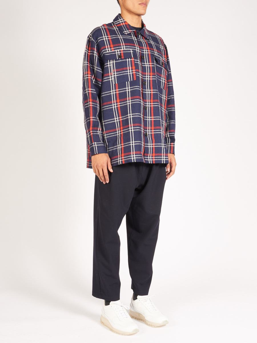 Dark Check Miami Shirt