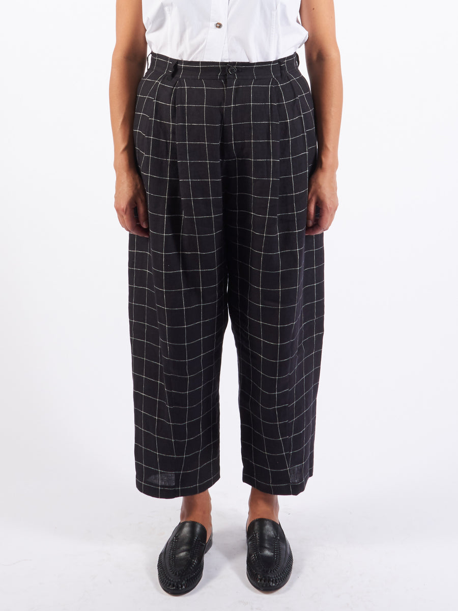 henrik-vibskov-dark-grey-check-love-song-pants-on-body