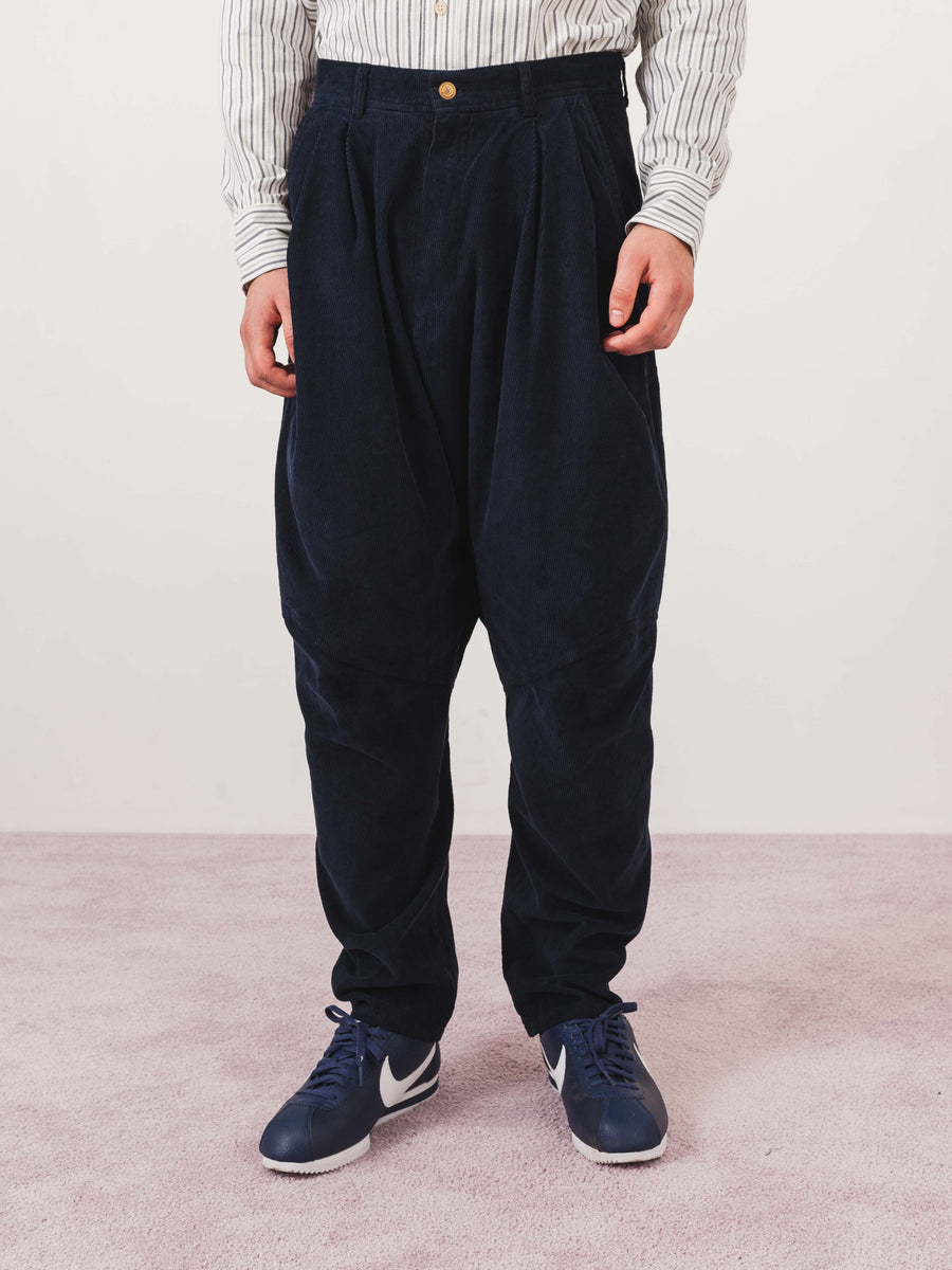 Henrik-Vibskov-Deep-Blue-Cord-Ants-Pants-on-body