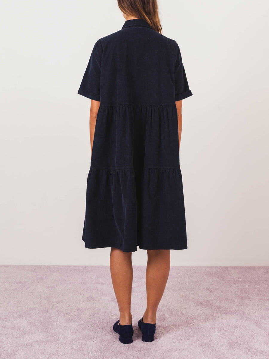 henrik-vibskov-deep-blue-cord-cake-dress-on-body