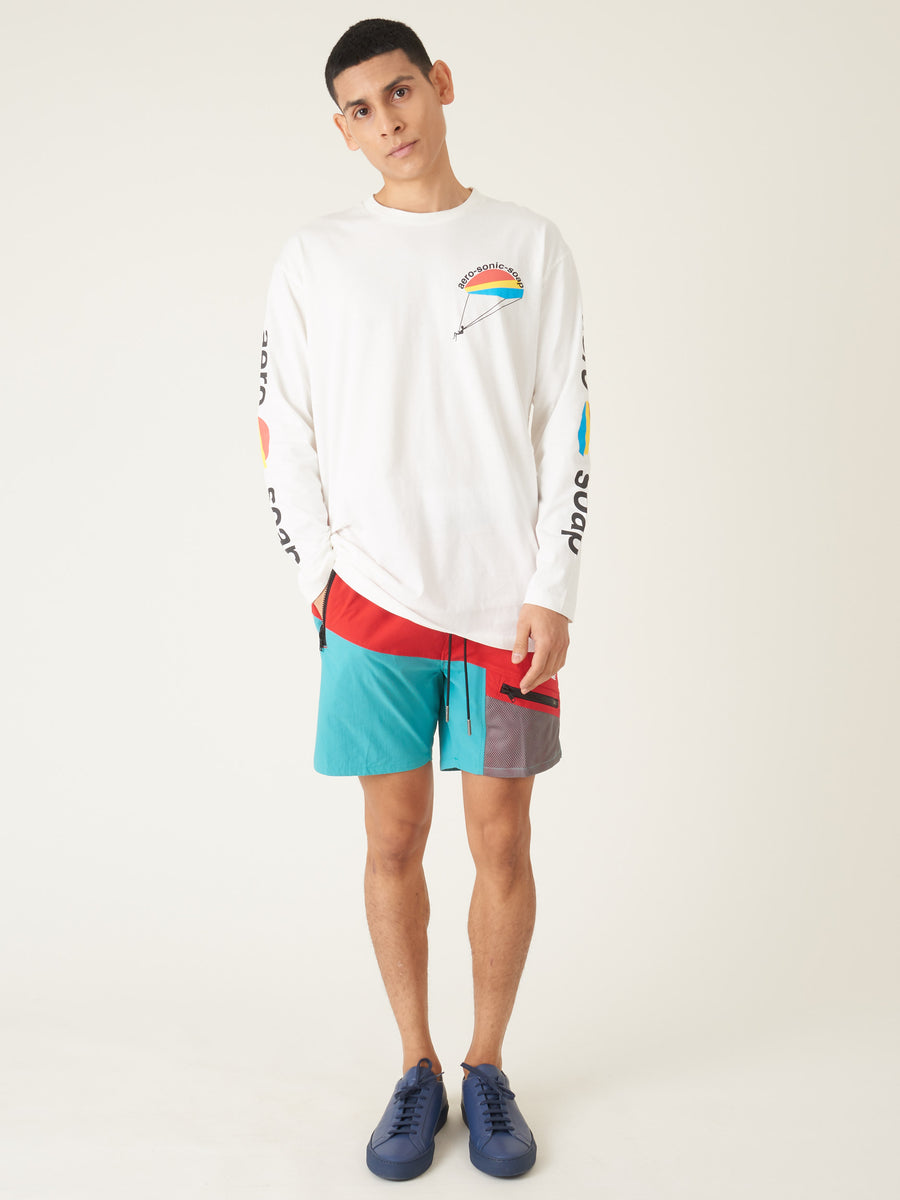 Henrik-Vibskov-White-Soap-Aero-L/S-T-Shirt-on-body