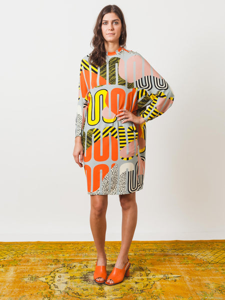 henrik-vibskov-whoop-print-dress-on-body