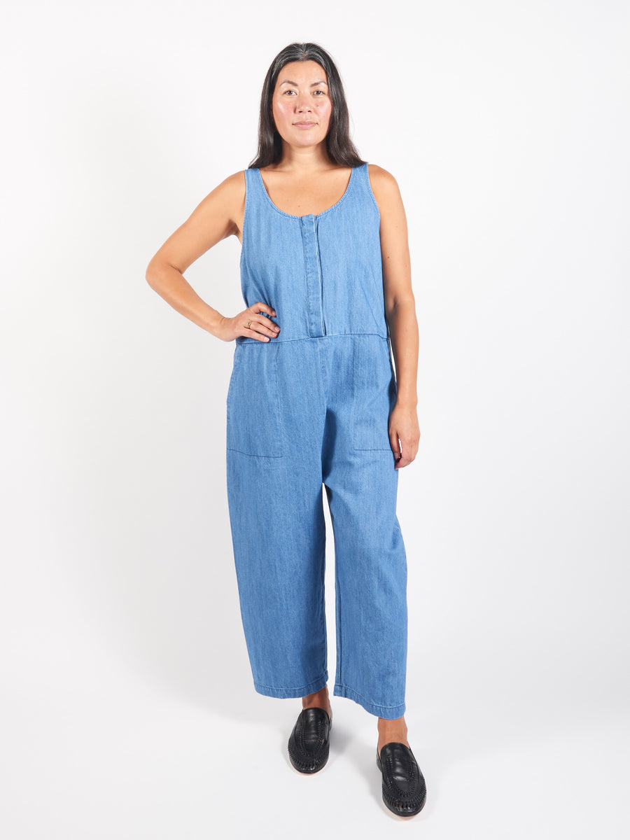 Faded Denim Leroy Jumpsuit