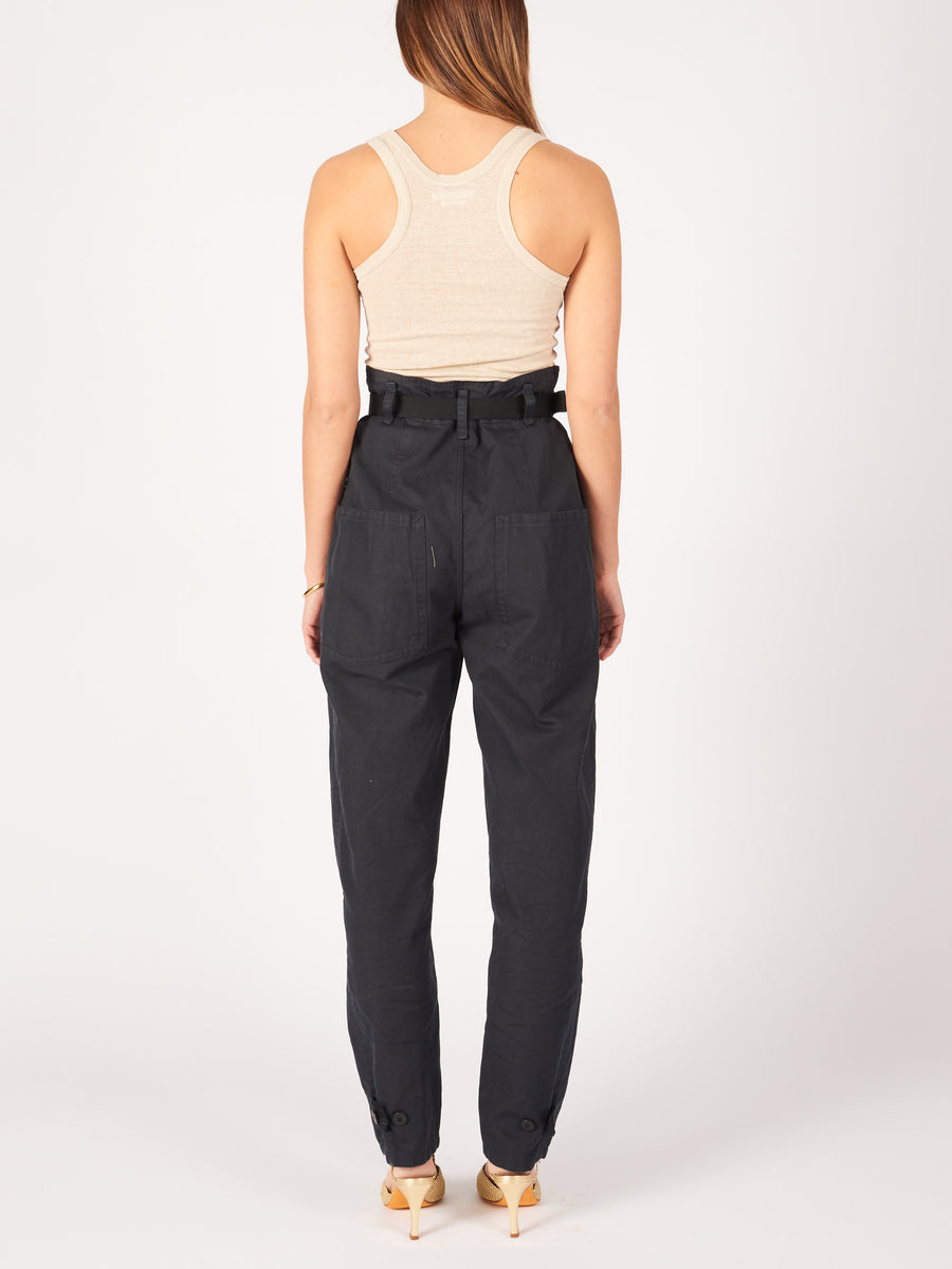 Isabel-Marant-Etoile-Faded-Black-Rinny-Trouser-on-body