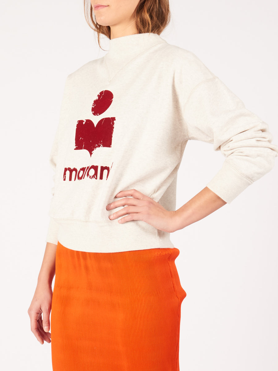 Isabel-Marant-Etoile-Ecru-Moby-Sweatshirt-on-body