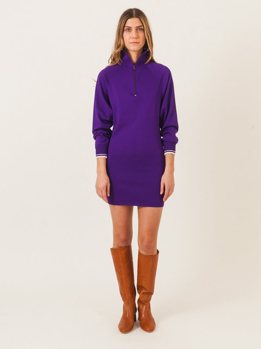 isabel-marant-etoile-purple-dita-dress-on-body