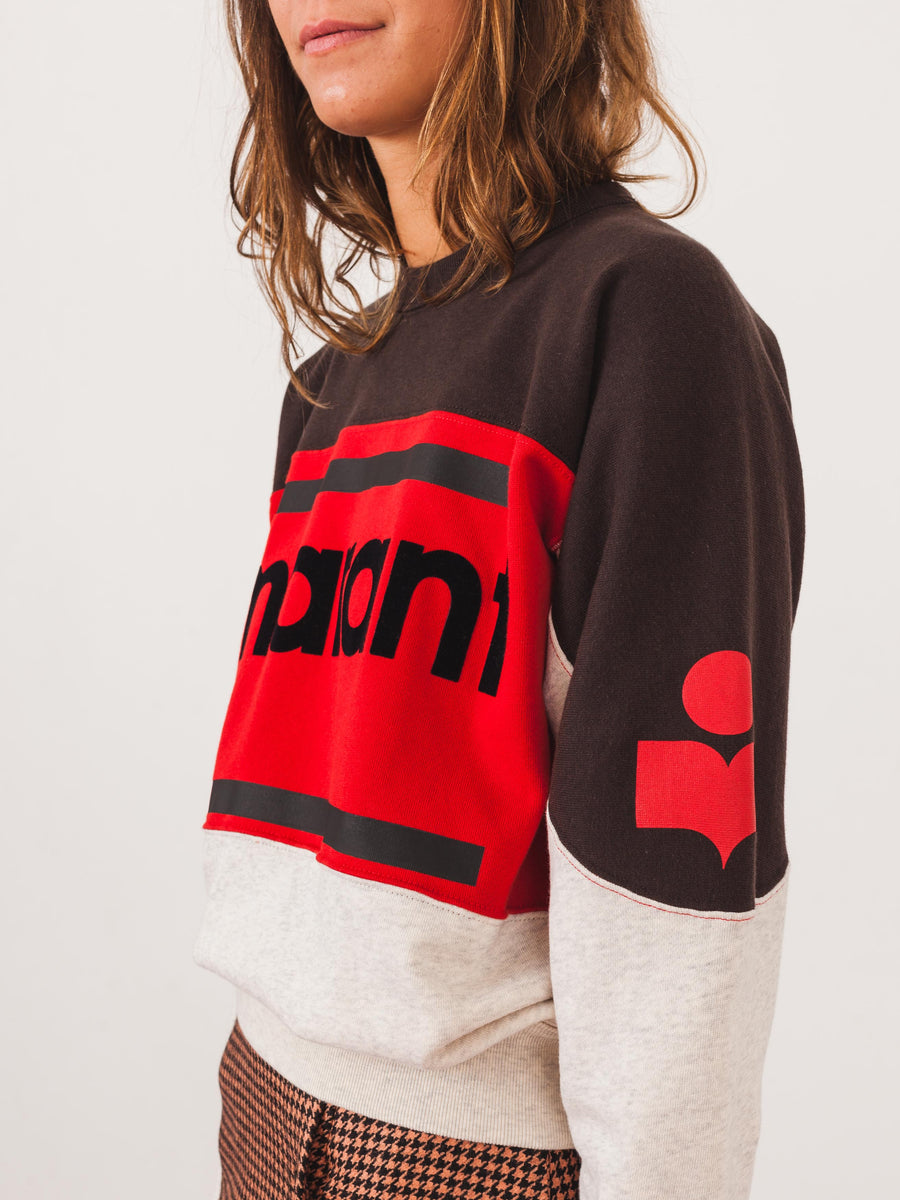 isabel-marant-faded-black-ecru-gallian-sweatshirt-on-body