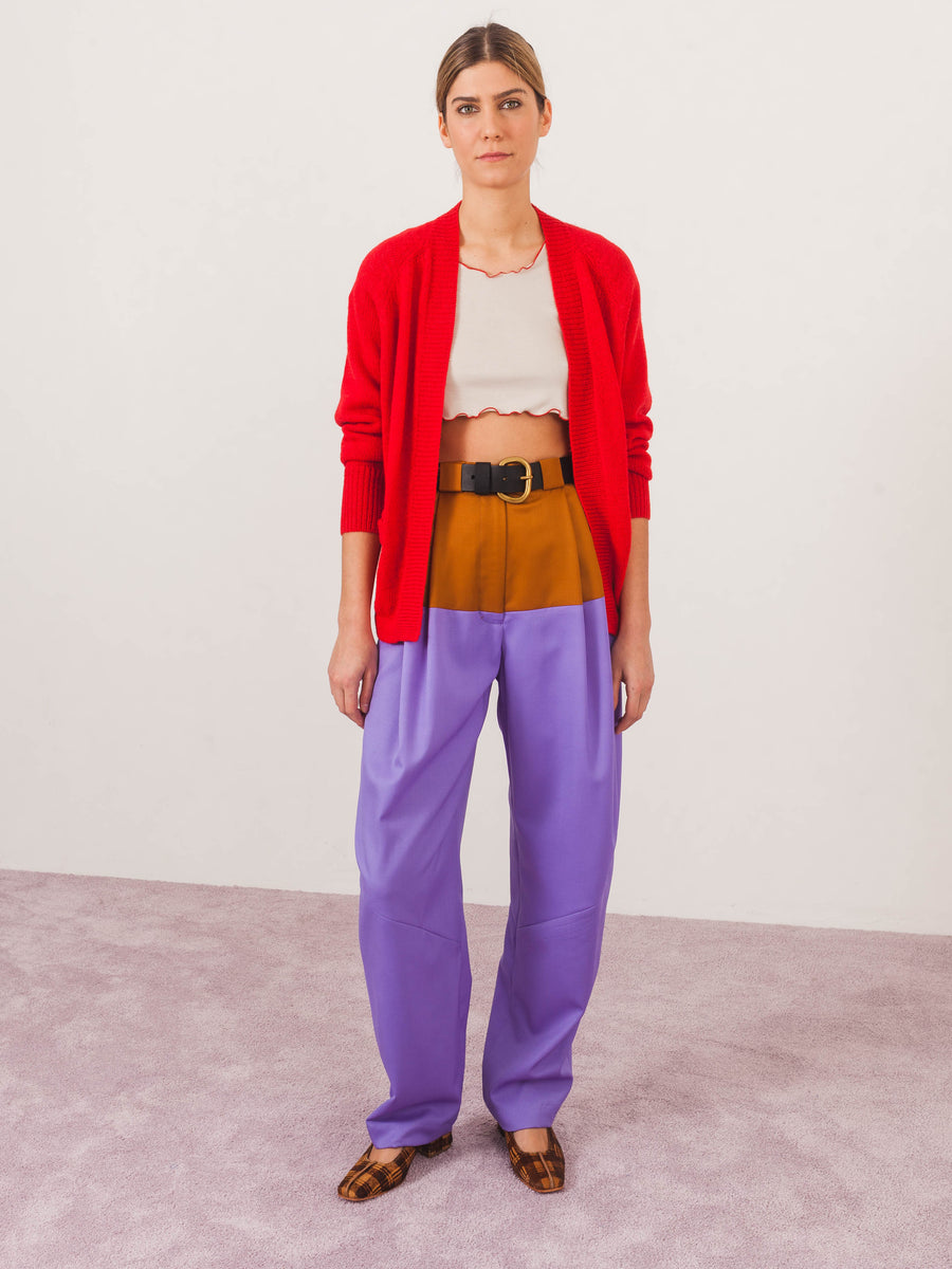 isabel-marant-etoile-red-gabston-cardigan-on-body